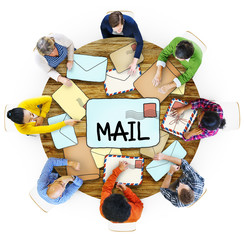Air Mail Email Post Information Correspondance People Concept