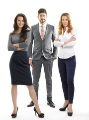 Sales team portrait