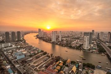 Bangkok cityscape, Thailand.