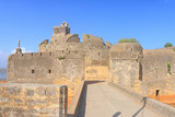 beautifully maintained fort diu gujarat india poster