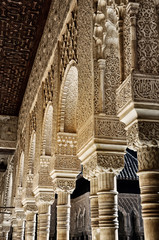 Alhambra Palace in Granada, Andalusia