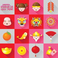 Icons Set : Chinese New Year