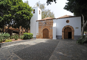 Église Notre-Dame de Regla à Pájara à Fuerteventura