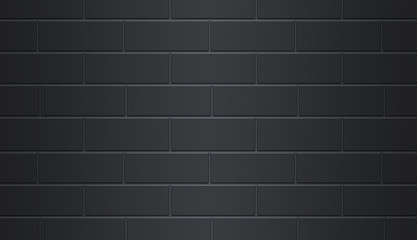 Brick Wall Black Background
