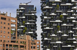 Bosco Verticale (Vertical Forest) Architectural detail, Milan