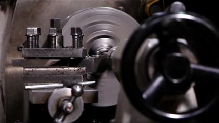 Heavy industry - Mechanical treatment, lathe machine