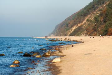 Wolin National Park beach - Międzyzdroje - Poland