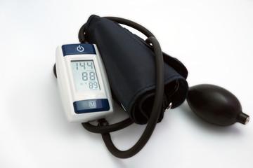 Blood pressure meter medical. Hypertension