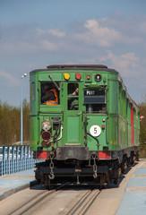 Ancienne rame métro à Saint Valéry sur Somme, Picardie