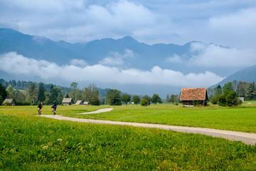 Bohinjska Bistrica and Julian Alps, Slovenia