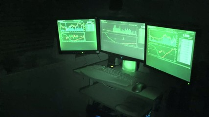 3 Computer Screens Owned By Hacker