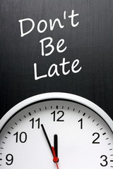 Don't Be Late for that important appointment reminder