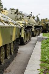 Old soviet tanks