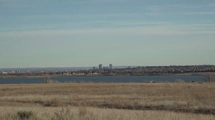 City Zoom in Across Lake