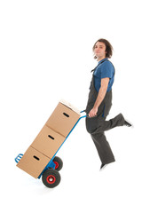 Industrial mover