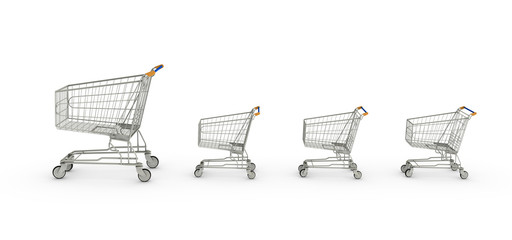 Shopping Cart Family