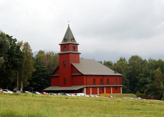 General view at church in USTRON resort