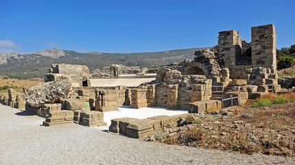 Roman theater, Baelo Claudia, Tarifa, Spain