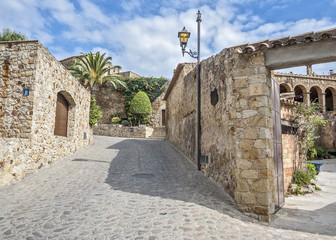 Spain, Catalonia , Girona, Pals .