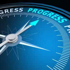 Progress word on compass