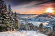 Sunset on the mountain top - 75583553