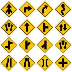Standard Traffic sign collection. High quality