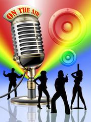 Altes Mikrofon, Disco retro