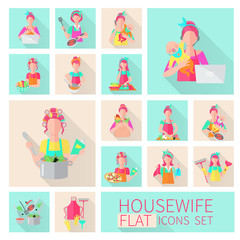 Housewife Flat Set
