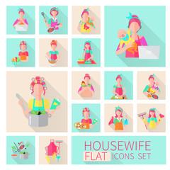 Housewife Flat Set