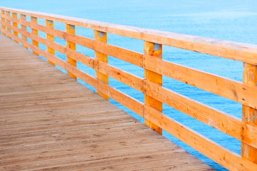 pier wooden baltic sea promenade abstract background