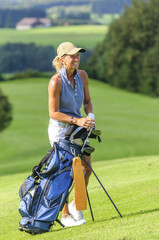 Freude am Golfspiel