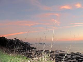 Lever de soleil en Bretagne