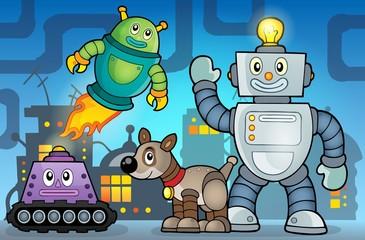 Robot theme image 6