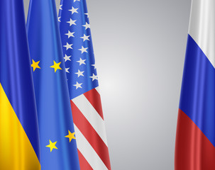Ukraine&EU&USA vs Russia