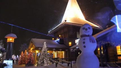 Santa clous village in Rovaniemi