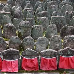 Japanese culture - jizo statues