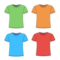 men's blue short sleeve t-shirt design templates