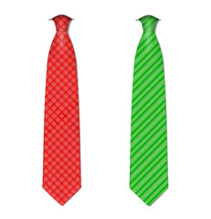 Plaid, checkered silk ties template.