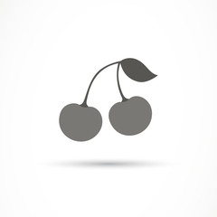 Vector Illustration of a Cherry Icon