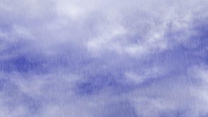 rain of blue sky clouds backrounds