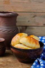 Fresh baked pasties