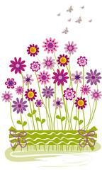 Ramo de flores de colores 2.