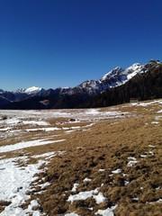 montagne snow orobie