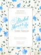 Obrazy na płótnie, fototapety, zdjęcia, fotoobrazy drukowane : Bridal Shower invitation.