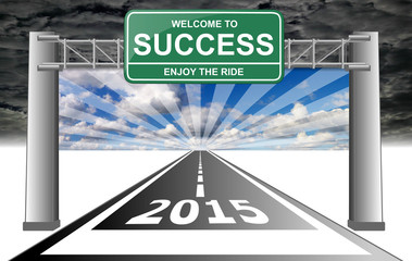 2015 welcome to success enjoy the ride