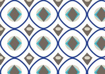 geometrisches Muster Vektor nahtlos