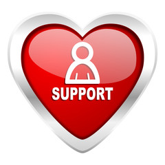 support valentine icon