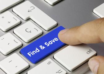Find & Save