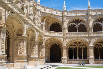 Cloister of the Jerónimos Monastery