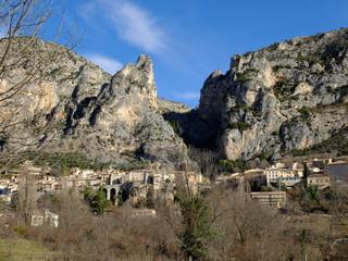 Rando autour de Moustier Sainte Marie - Provence